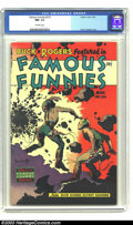 Golden Age (1938-1955):Science Fiction, Famous Funnies #216 (Eastern Color, 1955) CGC NM- 9.2 Off-whitepages. This is the final of an eight-issue consecutive run o...