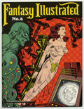 Magazines:Fanzine, Fantasy Illustrated #6 (Bill Spicer, 1966) Condition = VF+. This great fanzine features the Origin of The Black Phantom; a s...