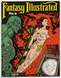 Fantasy Illustrated #6 (Bill Spicer, 1966) Condition = VF+. This great fanzine features the Origin of The Black Phantom;...