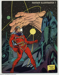 Fantasy Illustrated #7 (Bill Spicer, 1967) Condition = VF. This great fanzine features a cover by Adkins and Wally Wood...