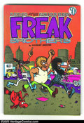Bronze Age (1970-1979):Alternative/Underground, Freak Brothers #2, 3rd printing (Rip Off Press, 1972). The wacky adventures of those furry freaks continue. Considering ther...