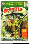 Silver Age (1956-1969):Adventure, Frontier Fighters #7 (DC, 1956) Condition: GD/VG. Tough DC from the dawn of the Silver Age. Overstreet 2003 GD 2.0 value = $...