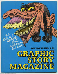 Graphic Story Magazine #12 Wolverton Issue (Bill Spicer, 1970) Condition = FN. No Basil Wolverton collection is complete...