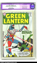Silver Age (1956-1969):Superhero, Green Lantern #1 (DC, 1960) CGC Apparent VF- 7.5 Moderate (P) Off-white to white pages. Green Lantern origin retold. First a...