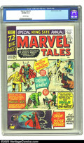 Silver Age (1956-1969):Superhero, Marvel Tales #2 (Marvel, 1965) CGC VF/NM 9.0 Off-white pages. Reprints the origins of the X-Men, Avengers, and Dr. Strange. ...