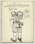 Bronze Age (1970-1979):Alternative/Underground, Melotoons #2 (Peter Kuper, 1976) Condition = VG/FN. This great underground features sketches from Robert Crumb's 1971 sketch...