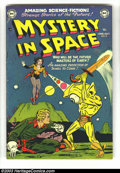 Golden Age (1938-1955):Science Fiction, Mystery in Space #8 (DC, 1952) Condition: FN/VF. Really nice,off-white pages. Fantastic cover, and this book is in exceptio...