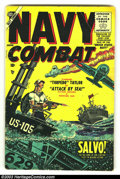Golden Age (1938-1955):War, Navy Combat #1 (Atlas, 1955) Condition: VG. Torpedo Taylor begins by Don Heck. First issue! Overstreet 2003 VG 4.0 value = $...