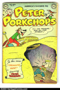 Golden Age (1938-1955):Funny Animal, Peter Porkchops #18 (DC, 1952) Condition: VF. Rarely seen in thiskind of condition. Overstreet 2003 VF 8.0 value = $58. F...