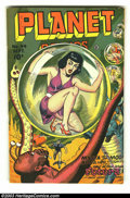 Golden Age (1938-1955):Science Fiction, Planet Comics #44 (Fiction House, 1946) Condition: FN/VF. All you Planet Comics lovers, besides displaying excellent tas...