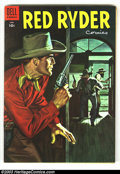Golden Age (1938-1955):Western, Red Ryder Comics Group (Dell, 1942). Contains issues #89 VG, #118 VF-, #128 FN, #141 VF- and #143 VF. Overstreet 2003 value ... (Total: 5 Comic Books Item)