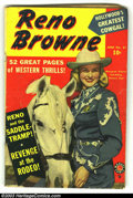Golden Age (1938-1955):Western, Reno Browne 51 (#2) (Marvel, 1950) Condition: GD. Photo cover Western. Formerly Margie Comics, becomes Apache Kid #5...