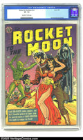 Golden Age (1938-1955):Science Fiction, Rocket to the Moon #nn (Avon, 1951) CGC VF- 7.5 Off-white to whitepages. Joe Orlando cover and art. Overstreet 2003 VF 8.0 ...