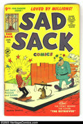 Golden Age (1938-1955):Horror, Sad Sack Comics Group (Harvey, 1951). Large group lot of earlyissues in high-grade. This lot contains issues #9 VF-, #11 FN...(Total: 10 Comic Books Item)