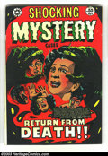 Golden Age (1938-1955):Horror, Shocking Mystery Cases #55 (Star Publications, 1953) Condition: FN.Beautiful L.B. Cole cover. Overstreet 2003 FN 6.0 value ...