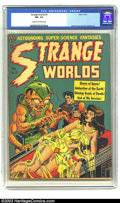 Golden Age (1938-1955):Horror, Strange Worlds #5 (Avon, 1951) CGC FN+ 6.5 Cream to off-whitepages. Wood cover and art, Orlando art. Overstreet 2003 FN 6.0...