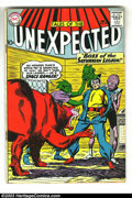 Silver Age (1956-1969):Horror, Tales of the Unexpected Group of #58-60 (DC, 1958) Condition:Average VG. Nice set of three issues. Overstreet 2003 value fo...(Total: 3 Comic Books Item)