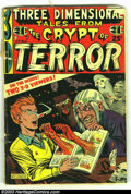 Golden Age (1938-1955):Horror, Three Dimensional Tales from the Crypt of Terror #2 (EC, 1954)Condition: FR. Contains a detached pair of glasses, but just ...