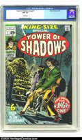 Bronze Age (1970-1979):Horror, Tower of Shadows Annual #1 (Marvel, 1971) CGC NM 9.4 White pages.Romita cover, Neal Adams art. Overstreet 2003 NM 9.4 value...