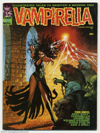 Vampirella #2 (Warren, 1970) Condition: VG-. Classic second issue. Overstreet 2003 VG 4.0 value = $28