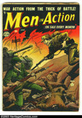 Golden Age (1938-1955):War, War Comics Golden Age Group of 19 comics (Various Publishers,1950s) Condition: Varies, Average GD+. Giant Group Lot of War ...(Total: 19 Comic Books Item)