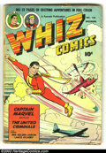 Golden Age (1938-1955):Science Fiction, Whiz Comics #128 (Fawcett, 1950) Condition: GD. A Captain Marvelclassic. Overstreet 2003 GD 2.0 value = $24. From the col...