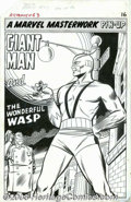 Original Comic Art:Splash Pages, Carl Burgos - Original Art for Tales to Astonish #63, page 16(Marvel, 1965). With his place in comics history secured by th...