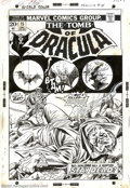 Original Comic Art:Covers, Gil Kane - Original Cover Art for Tomb of Dracula #15 (Marvel, 1973). Although Gene Colan is certainly the artist most assoc...