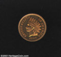 Proof Indian Cents: , 1867 1C PR64 Red and Brown Uncertified. The obverse is ...