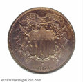 Proof Two Cent Pieces: , 1864 2C Small Motto PR65 Brown PCGS. Thanks to the ...