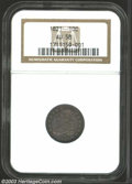 Bust Dimes: , 1821 10C Small Date AU58 NGC. JR-8, R.2. Deeply toned in ...