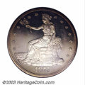 Early Proof Sets: , 1875 T$1 Trade Dollar PR63 Cameo PCGS. The contrast on ...