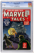 Silver Age (1956-1969):Horror, Marvel Tales #143 (Atlas, 1956) CGC VF- 7.5 Off-white to whitepages....