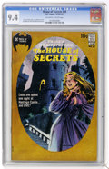 Bronze Age (1970-1979):Horror, House of Secrets #89 (DC, 1971) CGC NM 9.4 Off-white to whitepages....
