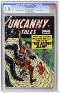 Golden Age (1938-1955):Horror, Uncanny Tales #26 (Atlas, 1954) CGC VG/FN 5.0 Cream to off-whitepages....