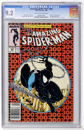 Modern Age (1980-Present):Superhero, The Amazing Spider-Man #300 (Marvel, 1988) CGC NM- 9.2 Off-white towhite pages....