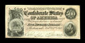 Confederate Notes:1864 Issues, T64 $500 1864 Cr-489, PF-1. This light pink tinted example is Crisp Uncirculated, with its only flaws a couple of small ...