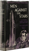 Books:First Editions, Martin Greenberg, editor: Men Against Stars. (New York:Gnome Press, 1950), first edition, 351 pages, jacket illustratio...