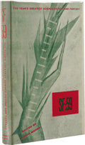 Books:First Editions, Judith Merril, editor: SF59: The Year's Greatest Science-Fictionand Fantasy. (New York: Gnome Press, 1959), first editi...