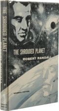 Books:First Editions, Robert Randall: The Shrouded Planet. (New York: Gnome Press,1957), first edition, 188 pages, , bound in blue cloth with...