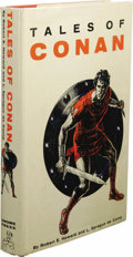 Books:First Editions, Robert E. Howard and L. Sprague de Camp: Tales of Conan.(New York: Gnome Press, 1955), first edition, 218 pages, dust j...