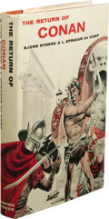 Books:Signed Editions, Bjorn Nyberg & L. Sprague de Camp: Signed First Edition of The Return of Conan. (New York: Gnome Press, Inc., 1957), fir...