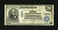 National Bank Notes:Pennsylvania, Glen Campbell, PA - $20 1902 Plain Back Fr. 658 The First NB Ch. #5204. This note last appeared in CSNS 2066 where it w...