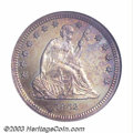Proof Seated Quarters: , 1862 25C PR66 NGC. Briggs 5-E. The onset of the Civil War ...
