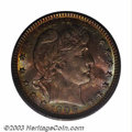 Barber Quarters: , 1906-O 25C MS66 PCGS. The 1906-O, like many O-mint ...