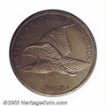 Patterns: , 1858 P1C Flying Eagle Cent, Judd-198, Pollock-229, R.6-7, ...
