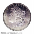 Proof Morgan Dollars: , 1921 $1 Zerbe PR66 NGC. While not of the same quality as ...