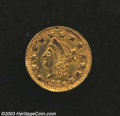 California Fractional Gold: , 1876 50C Liberty Round 50 Cents, BG-1040, High R.6, AU55 ...