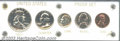 Proof Sets: , An Uncertified 1950 Proof Set housed in a plastic Capitol ... (5 coins)