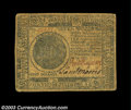 Colonial Notes:Continental Congress Issues, Continental Currency November 29, 1775 $7 Very Fine. A ...